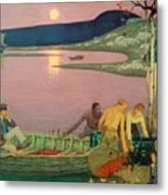 The Call Of The Sea Metal Print by Frederick Cayley Robinson