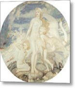 The Children Of Lir Metal Print by John Duncan