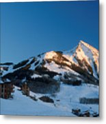 The Crested Butte Metal Print by Jerry McElroy