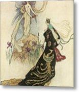 The Fairy Book Metal Print by Warwick Goble