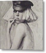 The Fame Monster Metal Print by Cynthia Campbell