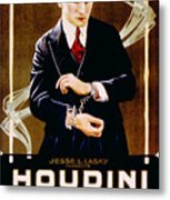 The Grim Game, Harry Houdini, 1919 Metal Print by Everett