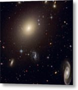 The Hubble Space Telescope Reveals An Metal Print by ESA and nASA