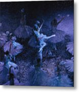 The Joffrey Ballet Dances The Metal Print by Sisse Brimberg