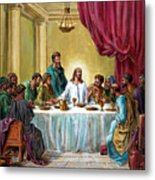 The Last Supper Metal Print by John Lautermilch