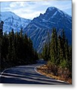 The Long And Winding Road Metal Print by Larry Ricker