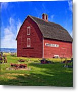The Olmstead Place Metal Print by Wendy White