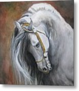 The Unreigned King Metal Print by Nonie Wideman