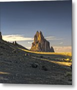 This Is New Mexico No. 2 - Shiprock World Wonder Metal Print by Paul W Sharpe Aka Wizard of Wonders