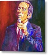 This Song Is For You - Andy Williams Metal Print by David Lloyd Glover