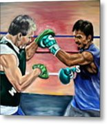 Time In The Ring Metal Print by Dawn Graham