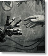 Touch Of Gear Metal Print by Roman Brygin