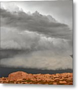 Touch The Clouds Metal Print by Christine Till