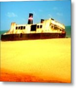 Transportation To Servitude Metal Print by Fania Simon