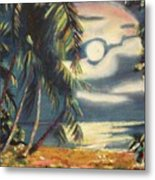Tropical Nights Metal Print by Suzanne  Marie Leclair