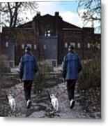 Two Paths Metal Print by Reb Frost