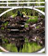 Under The Bridge Metal Print by Martin Rochefort