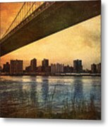 Under The Bridge Metal Print by Svetlana Sewell