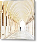 Underneath The Arches Metal Print by Marion Galt