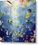 Underwater World II Metal Print by Odile Kidd