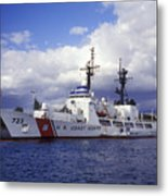 United States Coast Guard Cutter Rush Metal Print by Michael Wood