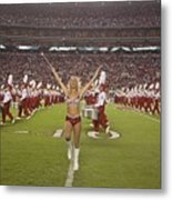 University Of Alabamas Marching Band Metal Print by Everett