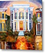 Uptown Tonight Metal Print by Diane Millsap