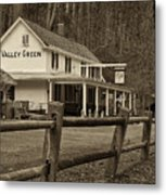Valley Green Metal Print by Jack Paolini