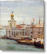 Venice Metal Print by Sir Samuel Luke Fields