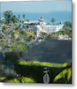 View From My Studio Metal Print by Russell Pierce