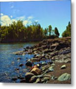 Warmth Of Sugarloaf Cove Metal Print by Bill Tiepelman
