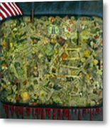 We Don't See The Whole Picture Metal Print by James W Johnson