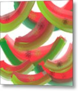 Whimsical Watermelon Metal Print by Denise Warsalla