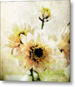 White Flowers Metal Print by Linda Woods