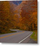 Winding Road Metal Print by Robert  Torkomian