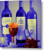 Winsome Wine Metal Print by Donald Davis