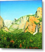 Yosemite National Park Metal Print by Jerome Stumphauzer
