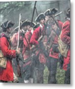 Young Lions French And Indian War  Metal Print by Randy Steele