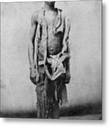 Young Slave During The Civil War Metal Print by Everett