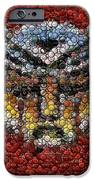 Autobot Transformer Bottle Cap Mosaic IPhone Case by Paul Van Scott