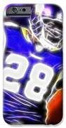 Magical Adrian Peterson   IPhone Case by Paul Van Scott