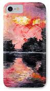 Sunset. After Storm. IPhone Case by Sergey Bezhinets