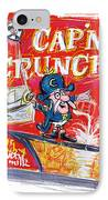 Capn Crunch IPhone Case by Russell Pierce