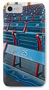 Fenway Bleachers IPhone Case by Michael Yeager