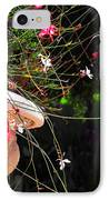 Filigree-iii IPhone Case by Susanne Van Hulst