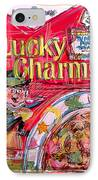 Lucky Charms IPhone Case by Russell Pierce