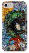 Marvin The Martian Mosaic IPhone Case by Paul Van Scott