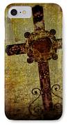 Old Cross IPhone Case by Perry Webster