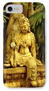 Tropical Buddha IPhone Case by Cheryl Young