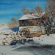 Grants Old Mill Print by Susan Moore